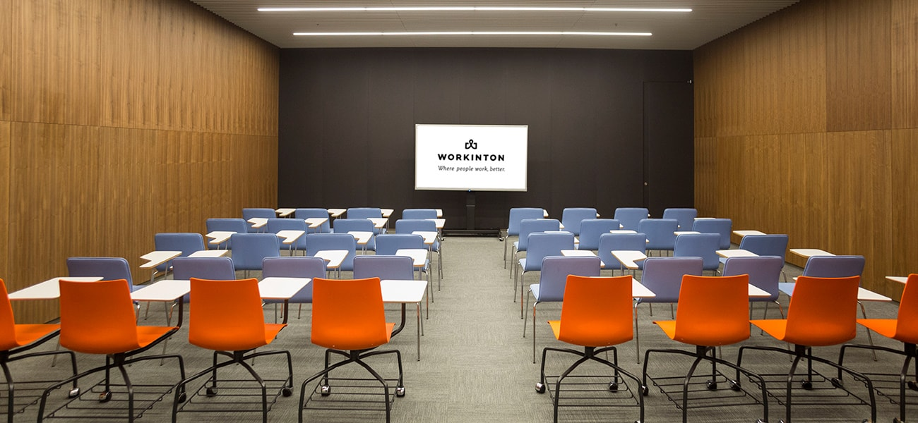 Workinton meeting rooms meet your instant and regualar meeting requirements.