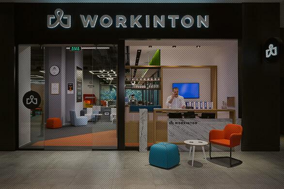 Workinton Esentepe - Toplantı odaları ve hazır ofisler.