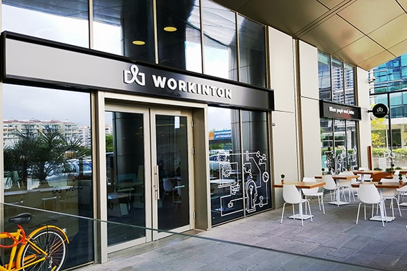 Workinton İzmir - Meeting rooms and serviced offices.