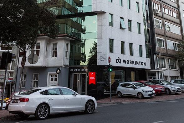 Workinton Maçka - Nişantaşı - Toplantı odaları ve hazır ofisler.