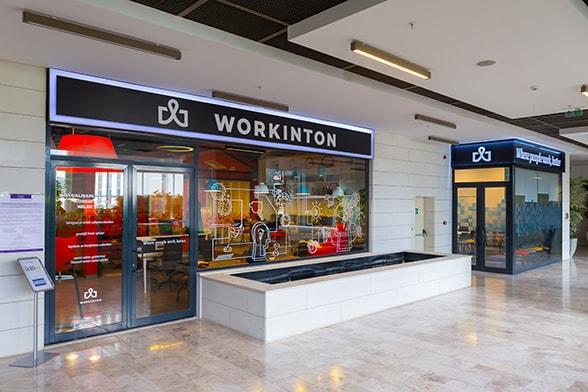 Workinton Ankara - Toplantı odaları ve hazır ofisler.