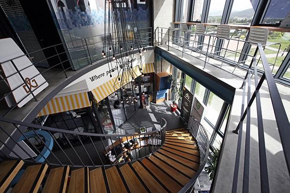 Workinton Buyaka - Toplantı odaları ve hazır ofisler.