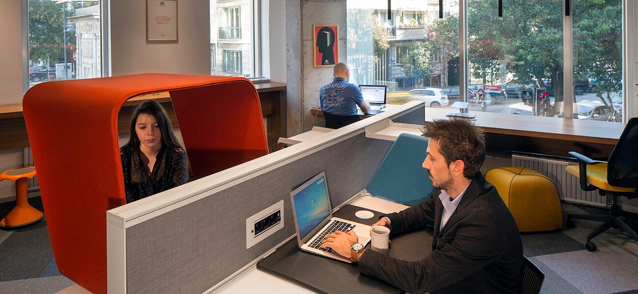 Workinton Maçka - Nişantaşı - Toplantı odası ve hazır ofisler