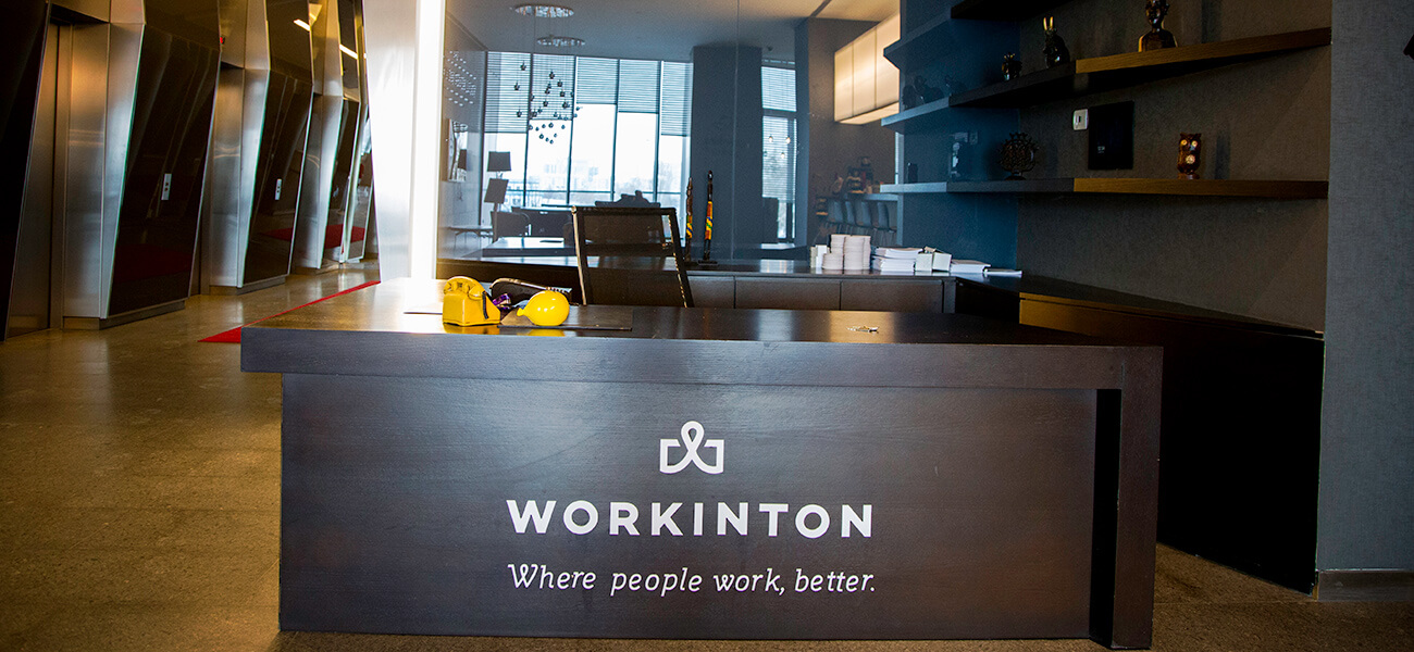 Workinton Next Level - Meeting rooms and Serviced office models