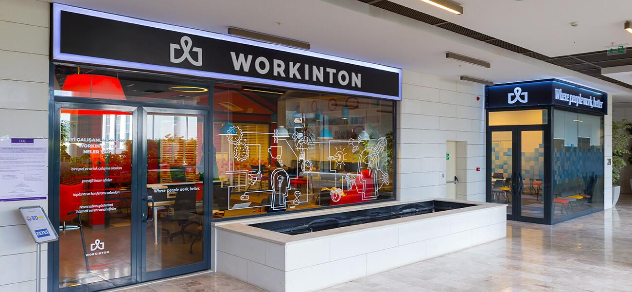 Workinton Söğütözü - Meeting rooms and Serviced office models